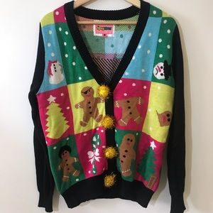 Tipsy Elves Ugly Christmas CARDIGAN Sweater